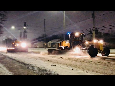 Snow Removal Plowing Ottawa Streets