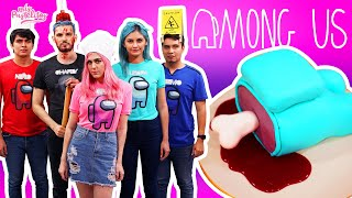 AMONG US EN LA VIDA REAL | PASTEL DE AMONG US | MIS PASTELITOS