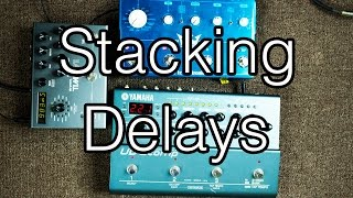 Ambient Guitar Techniques: Stacking Delays (Timeline, Flashback Triple Delay, UD-Stomp)