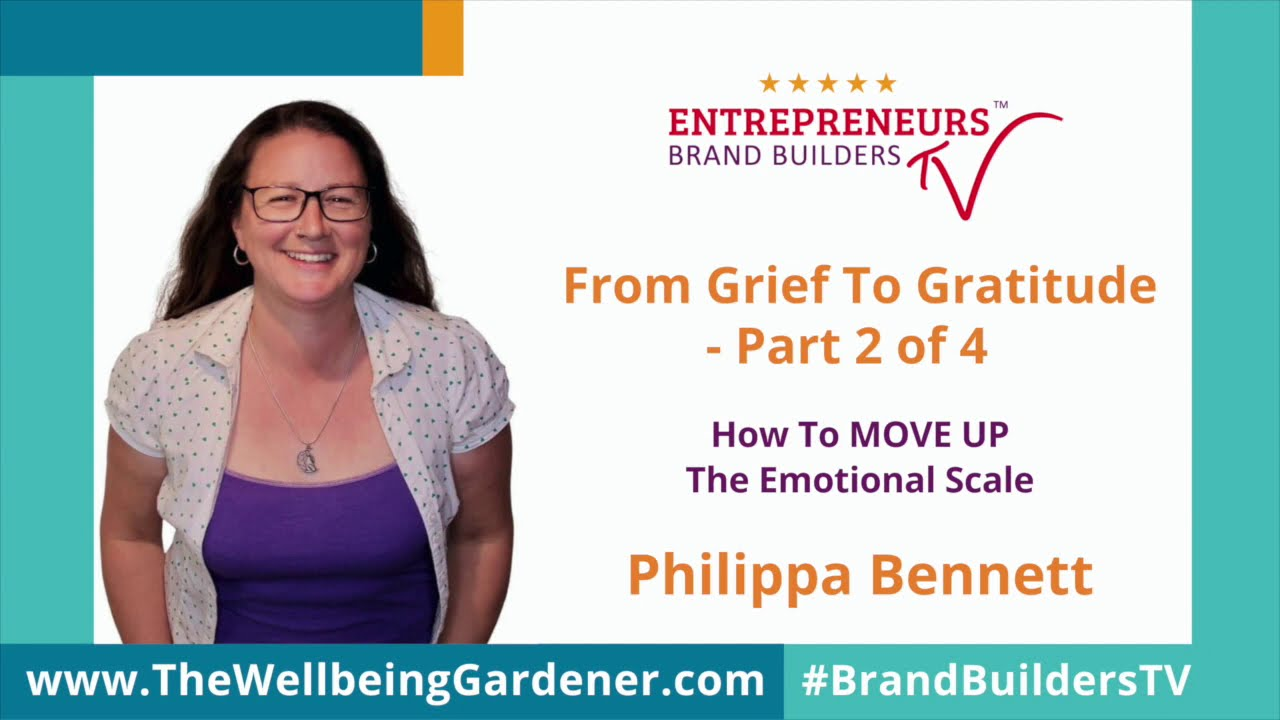 From Grief to Gratitude - Ep. Two - Up On YouTube!!  Grief Support For People Affected By Su