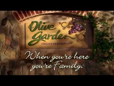 at t thanks olive garden molly culver in tv commercial for olive garden restaurant 2009