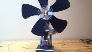 Free candle power fan