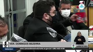 Domingos Bezerra    Câmara de Limoeiro do Norte 18 02 21