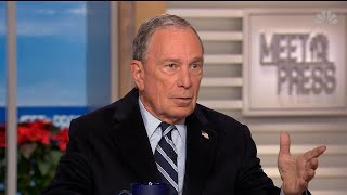 Bloomberg on climate change: