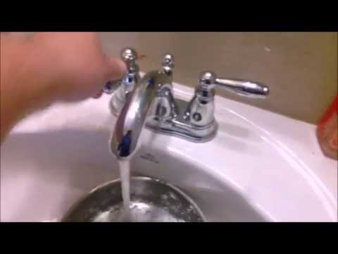 Bathroom Faucet No Water Pressure plumbing faucet low water pressure & humming noise in new home