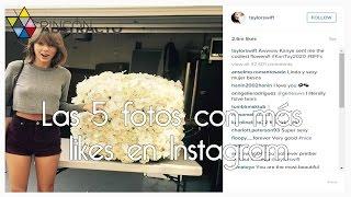 Las 5 fotos con más likes en Instagram