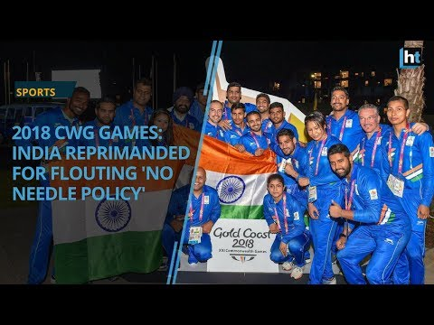 CWG syringe controversy: India reprimanded for flouting 'no needle policy'