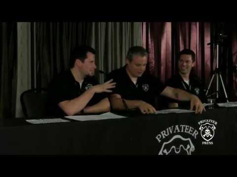 Lock & Load 2013 Staff Panel - Privateer Press