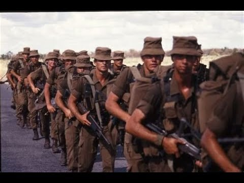 South Africa Defense Forces Border War vs. Communism