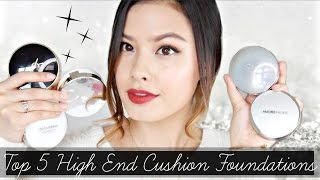 MY 5 HOLY GRAIL LUXE CUSHION FOUNDATIONS | High-End Cushion Recommendations