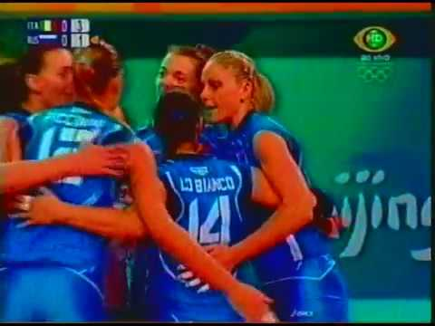 2008 Olympic Games: Italy 3x1 Russia (Sets 1 and 2)