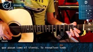 """Cómo tocar """"Loco"""" de Enrique Iglesias Ft. Romeo Santos en Guitarra (HD) COMPLETO+SOLO - Christianvib"""