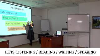 IELTS: Listening/Reading/Writing/Speaking