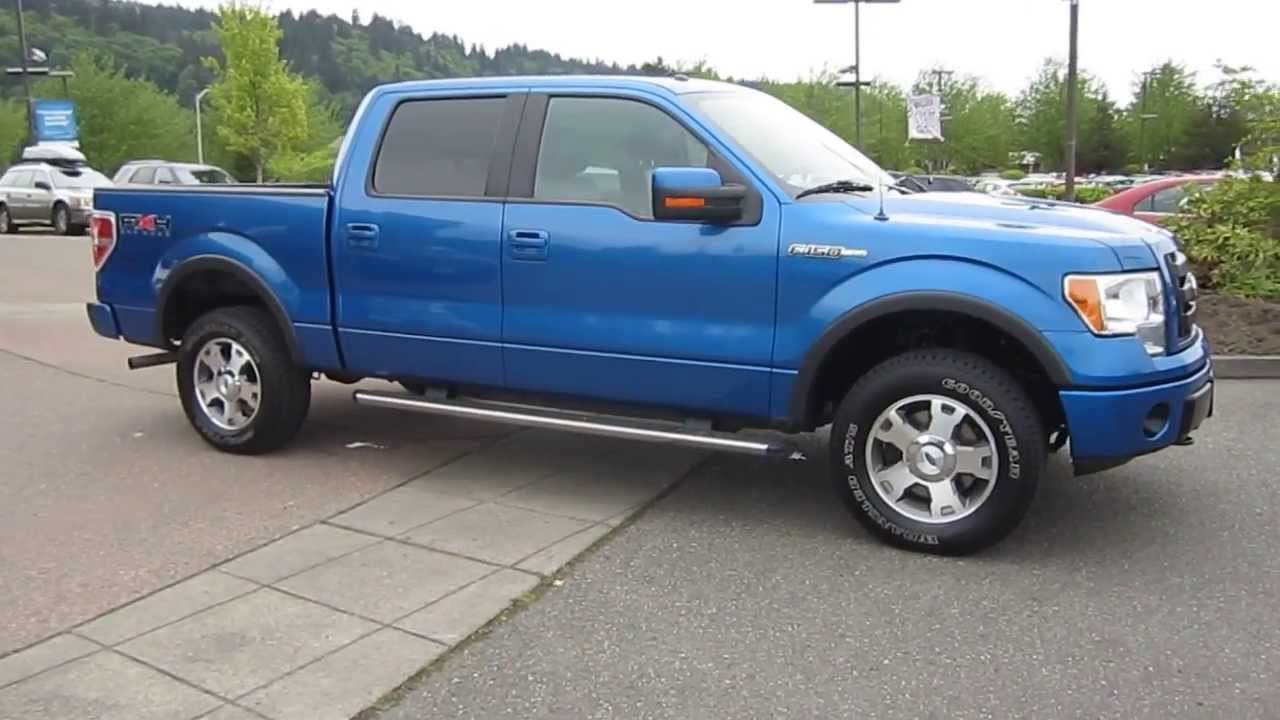 2010 Ford F 150 Blue Flame Metallic Stock 13 2293a