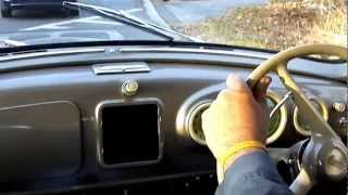 1951 Lancia Aurelia B20 1st series Viotti test drive