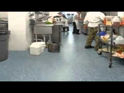 cheap kitchen floor - youtube