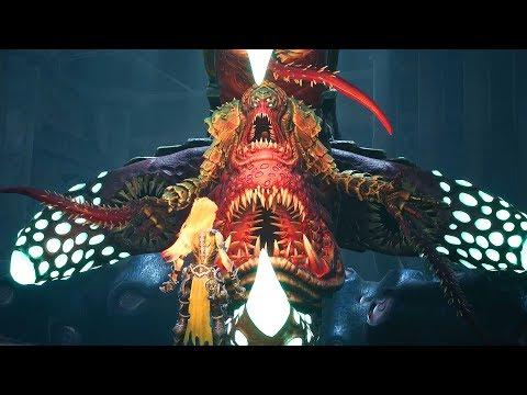 Darksiders 3: Gluttony Boss Fight - Deadly Sin #6 (1080p 60fps) |
