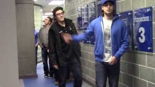 Alaska Hockey Unveils Locker Room to Players - 10/1/13