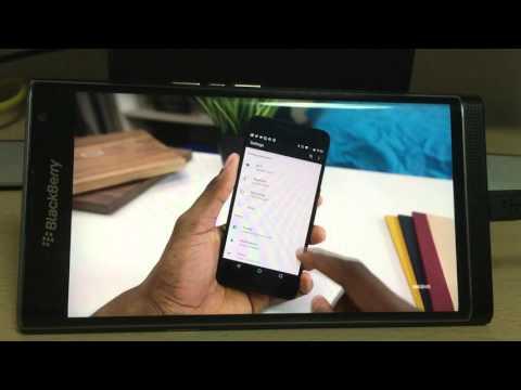 Blackberry PRIV 2K video gets frozen