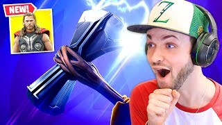 *NEW* AVENGERS WEAPONS in Fortnite!