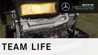 End of an era: signing off the final Mercedes-Benz V8 engine, FF73!