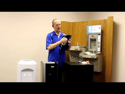 Cleaning & Santizing Your OASIS Water Cooler
