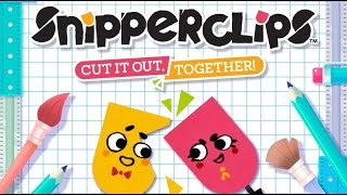 Snipperclips   Nintendo Switch Gameplay   Treehouse