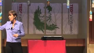 Why I smile at pain Christina Danyluk at TEDxVailWomen