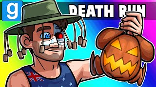 Gmod Death Run Funny Moments - Totally a Thanksgiving Map, Mate!