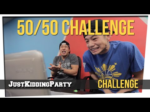50/50 Challenge ft. Joe Jo & Brandon Choi