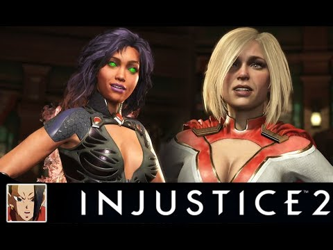 Thumbnail: INJUSTICE 2 - STARFIRE VS PREMIER SKINS ALL INTERACTION/INTRO DIALOGUES