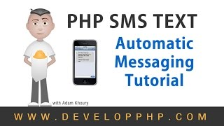 Send SMS Text Messages to Mobile Phone PHP Tutorial