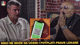 MARIO ZNA i dr BORISLAV ANTONIJEVIĆ- Kovid ausvajzi neće proći u Srbiji- Narod da otvori oči