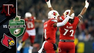 Louisville vs. Texas A&M - Music City Bowl Highlights (2015)