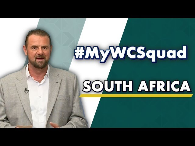 Simon Doull's #MyWCSquad - South Africa