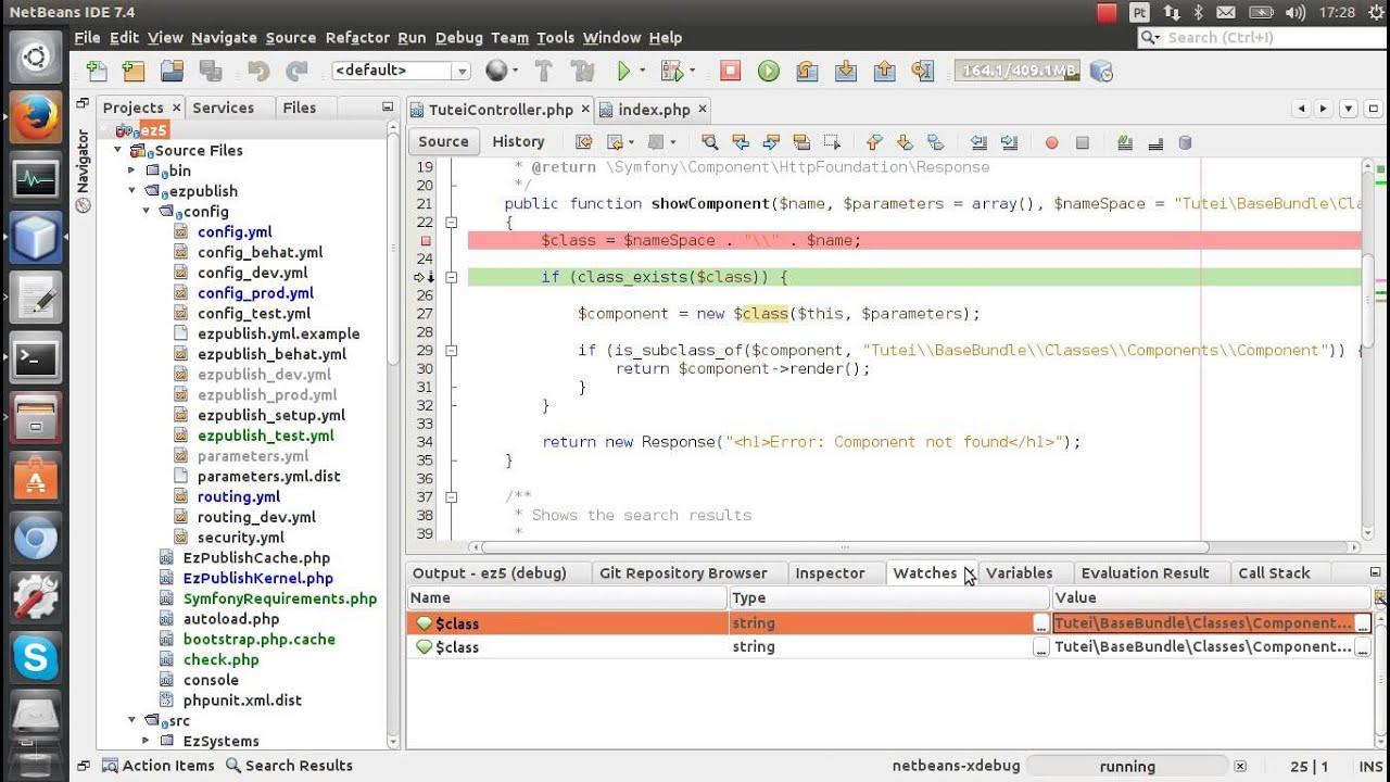 how to debug php
