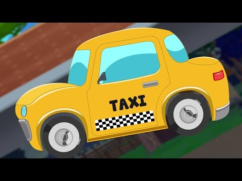 Taxi | Day to Night | Street Vehicle | Kids Video
