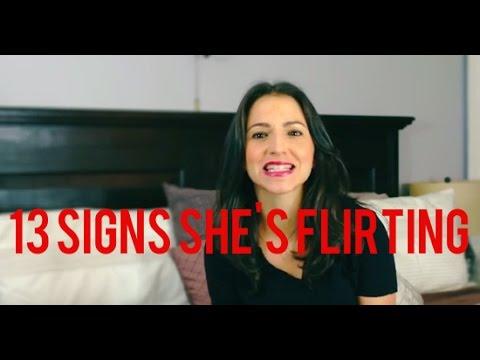 flirting signs for girls photos video youtube full