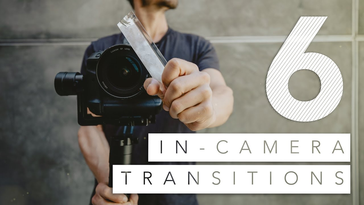 Got 2 Minutes to Learn 6 Easy In-Camera Transitions?