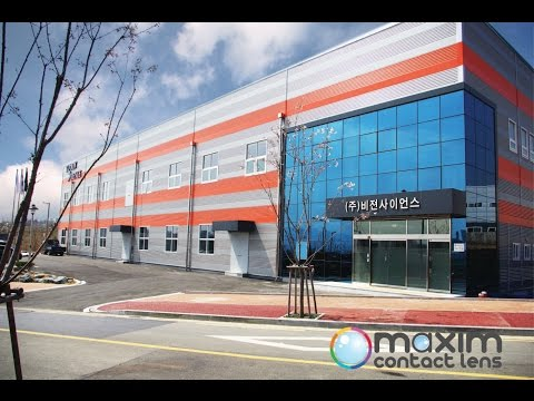 Vision Science Contact Lens Factory in South Korea