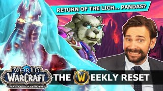 What Blizz Can't Tell Us About 8.3 & The Return Of The Lich King: WoW News