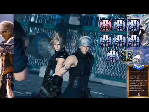 [MFF] FFVII X MOBIUS ECLIPSE CONTACT EVENT SUMMONS!! | Mobius Final Fantasy Playthrough #23
