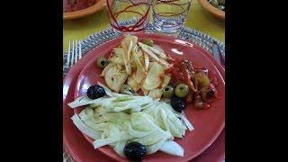 Cuisine Tunisienne - Salade de fenouil, de 2 façons.