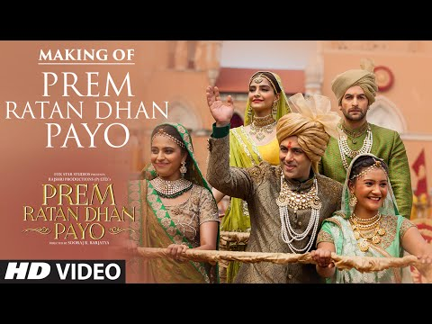 "Making Of ""Prem Ratan Dhan Payo"" Video Song 