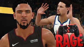 NBA 2K18 MyCAREER - FOULED OUT IN 1 QUARTER!?! BROKE 2 CONTROLLERS THIS GAME! RAGE!!!