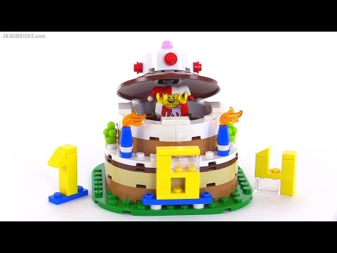 LEGO Birthday Table Decoration Review Set 40153