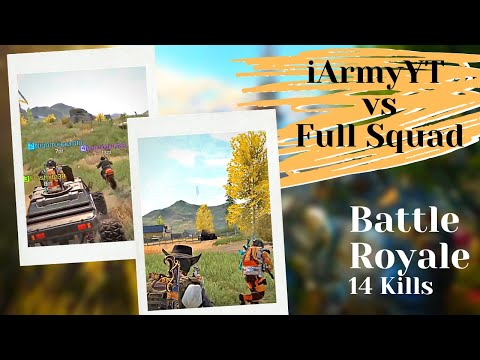 iArmyYT VS FULL SQUAD | 14 KILLS BATTLE ROYALE GAMEPLAY | CALL OF DUTY MOBILE | iArmyYT from YouTube · Duration:  7 minutes 1 seconds