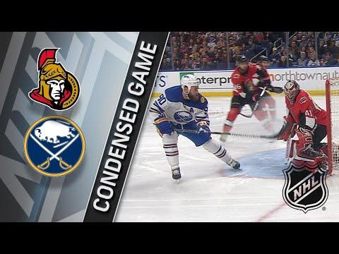 04/04/18 Condensed Games: Senators @ Sabres