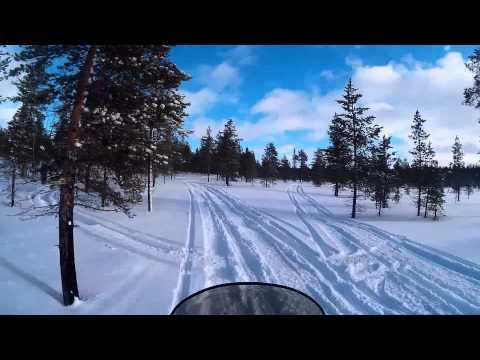 Polaris IQ 600 touring Saariselkä 2015