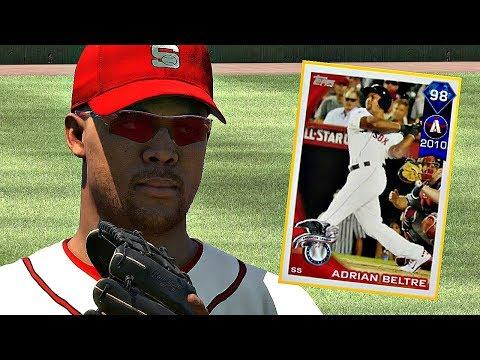 DIAMOND ADRIAN BELTRE DEBUT!! MLB The Show 17 Diamond Dynasty